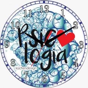 Relógio de Parede D30 Psicologia - Kuchendesign